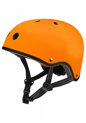 Micro helmet matt orange