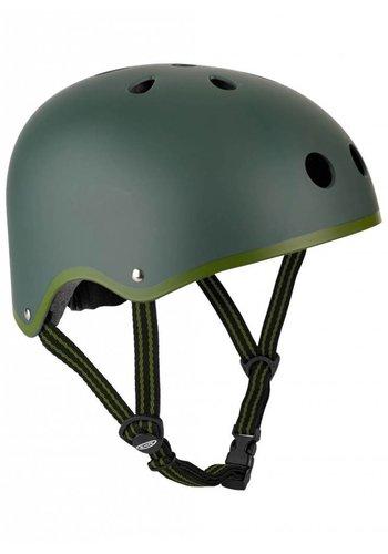 Micro helmet matt Camo Green