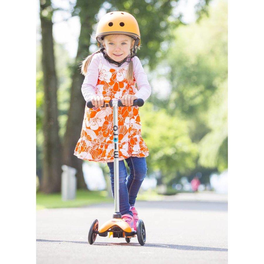 Micro helmet matt orange