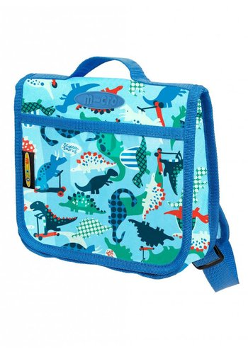 Mini Micro backpack dinosaur blue