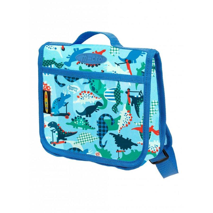 Mini Micro backpack dinosaur blue