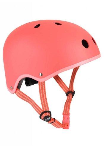 Micro helm mat koraalroze