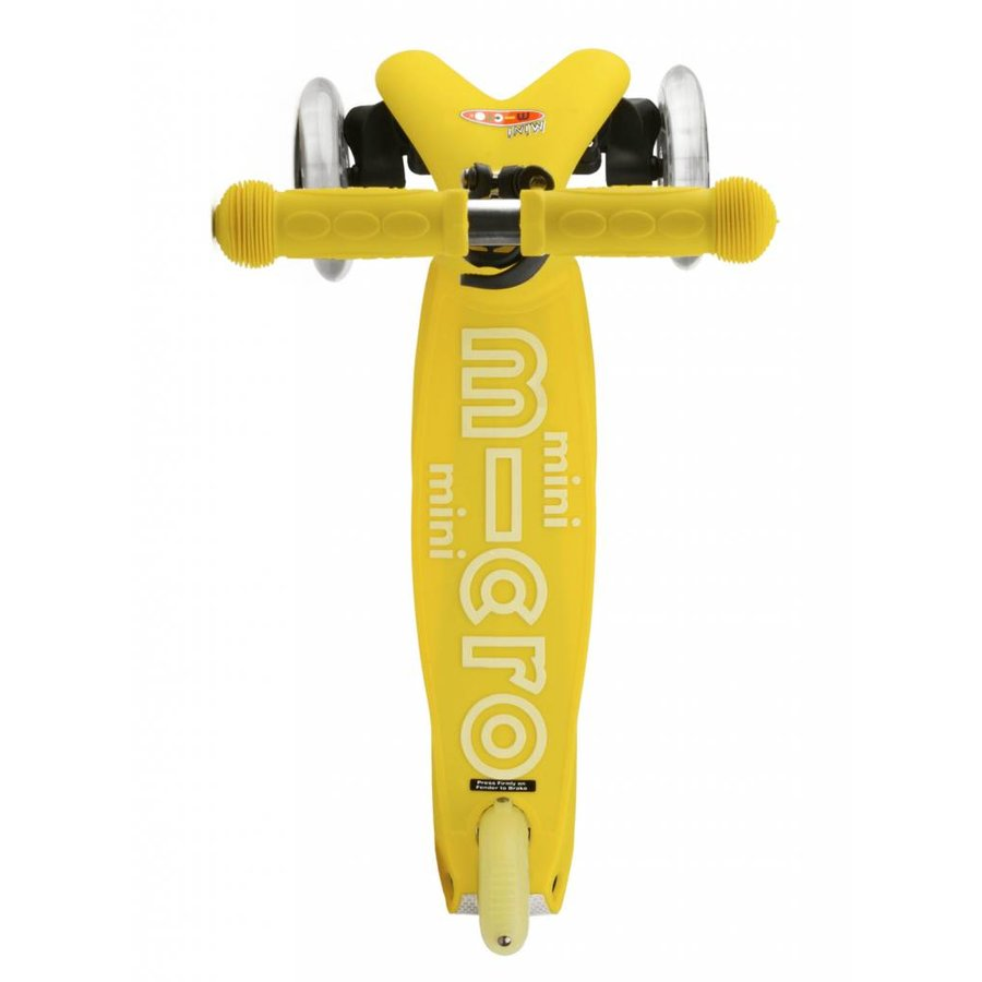 Mini Micro step Deluxe geel