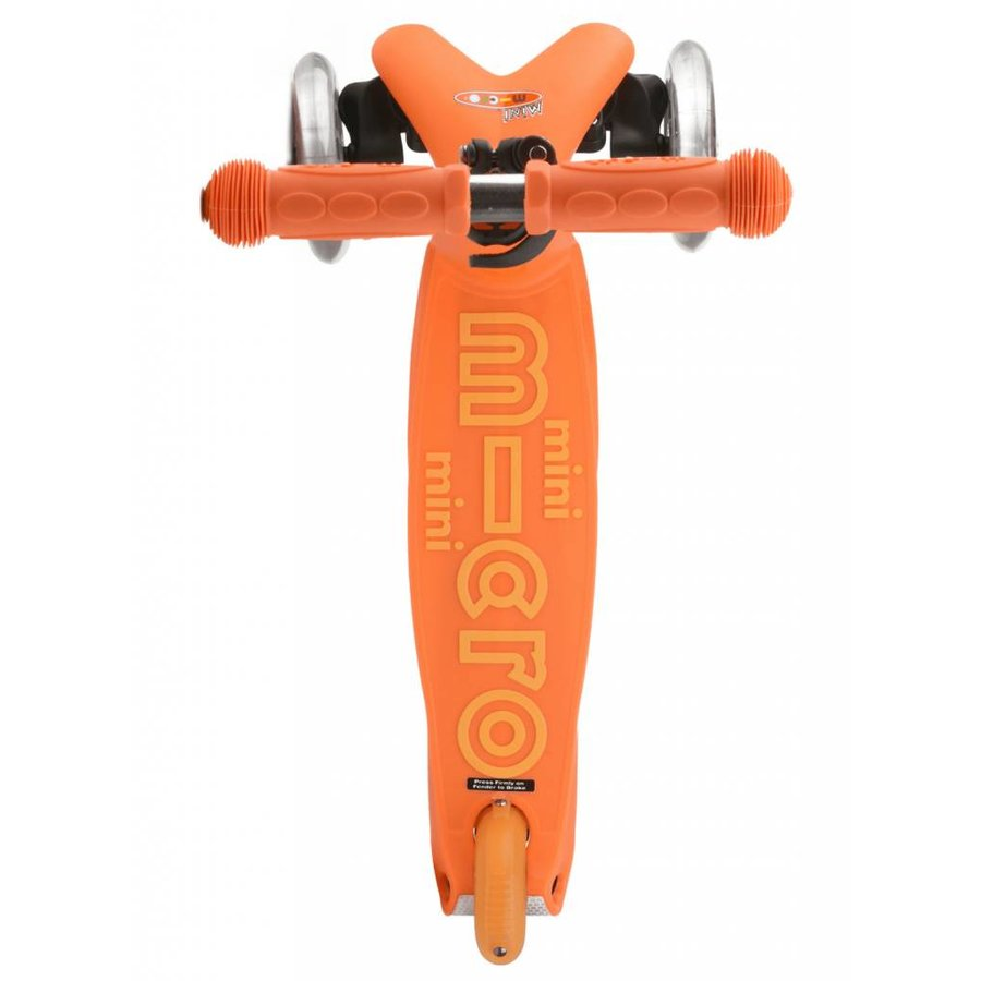 Mini Micro step Deluxe oranje