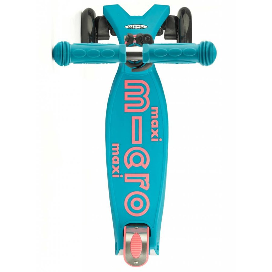 Maxi Micro step Deluxe aqua/roze