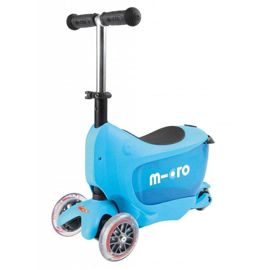 Micro Mini2go Deluxe Push Blue