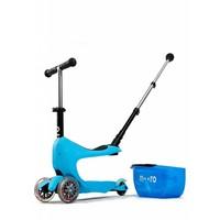 Micro Mini2go Deluxe Plus blauw
