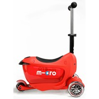 Micro Mini2go Deluxe Push Red