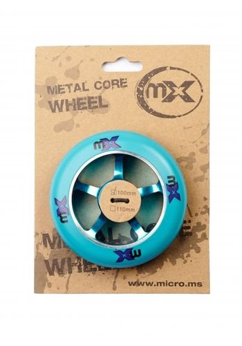 Micro MX metalcore wheel 100mm (MX1210)