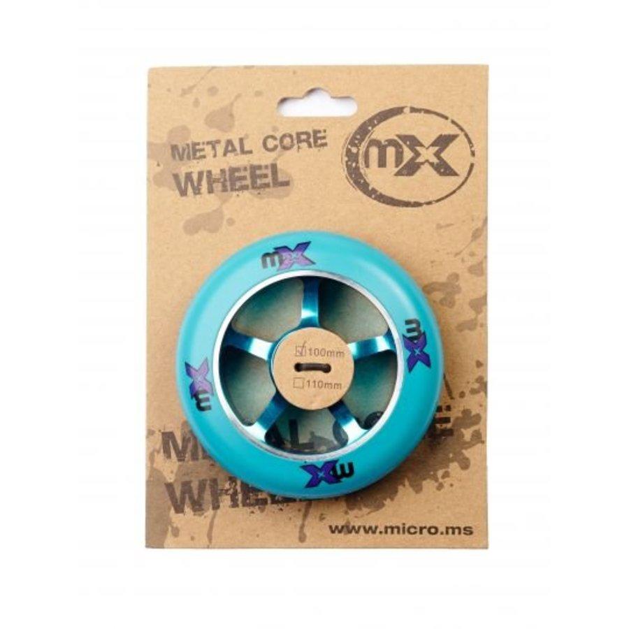 Micro MX 100mm Metal Core stuntwiel (MX1210)