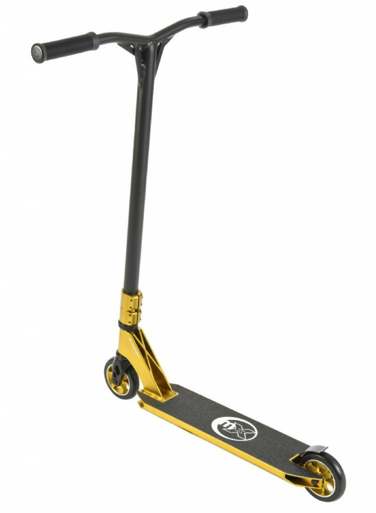 micro mx crossneck 2 0 stunt scooter gold free. Black Bedroom Furniture Sets. Home Design Ideas