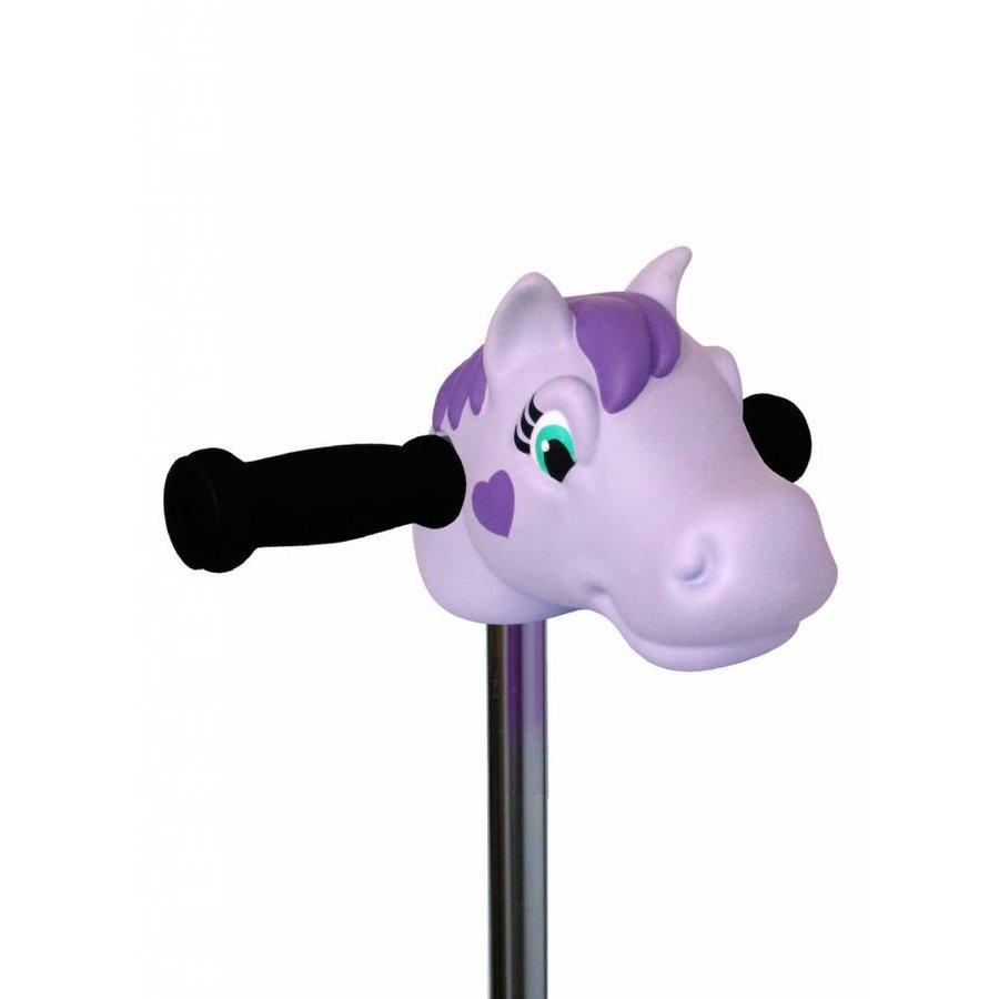 Scootaheadz pony purple