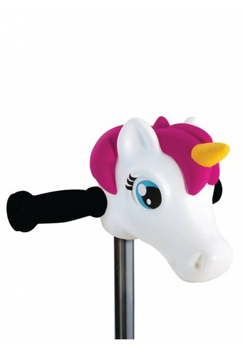 Scootaheadz unicorn white