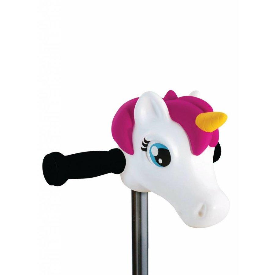 Scootaheadz unicorn white