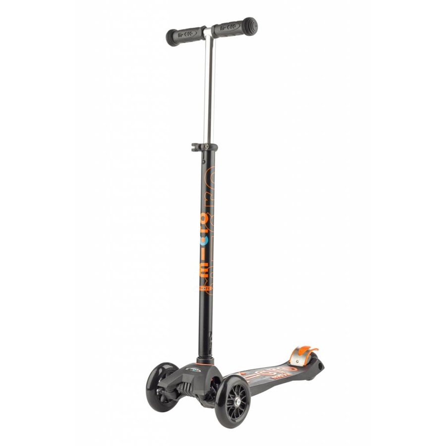 Maxi Micro scooter Deluxe Black/Orange