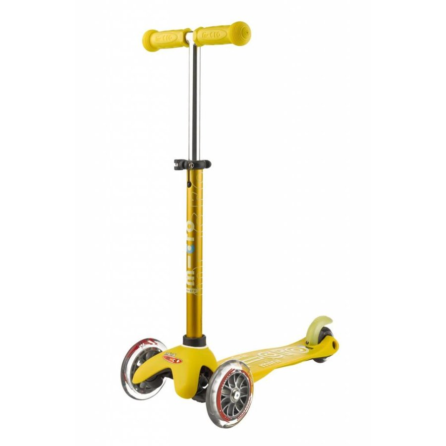 Mini Micro scooter Deluxe Yellow