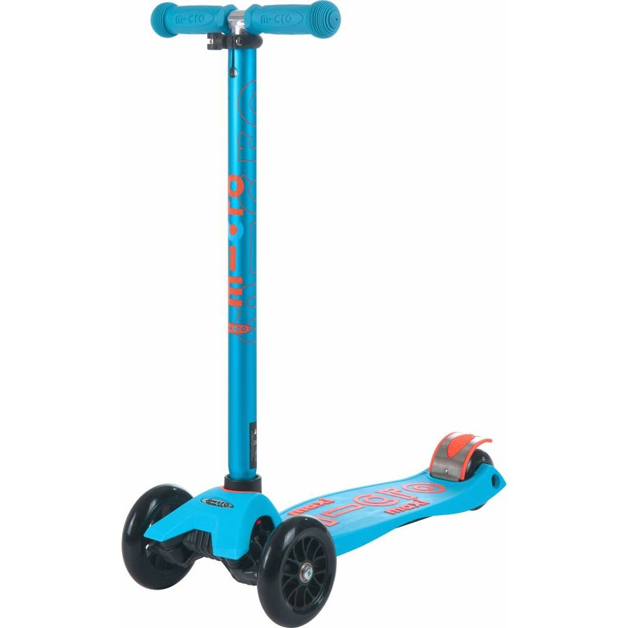 Maxi Micro scooter Deluxe Aqua/Orange