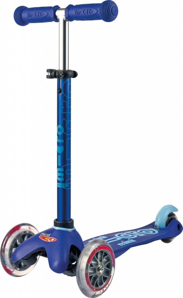 Mini Micro Scooter Deluxe Blue Free Shipping Micro Step