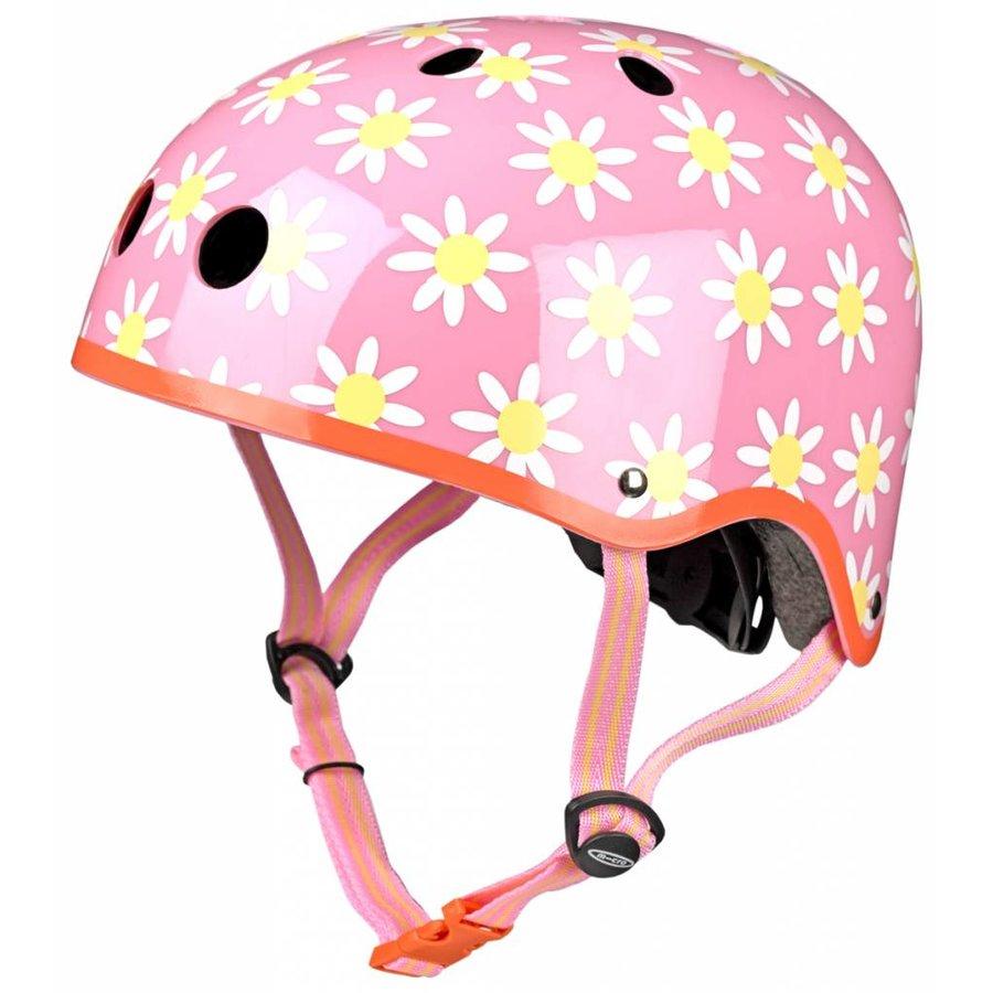 Micro helm  met bloemen patroon