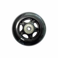 Micro wiel 80mm zwart