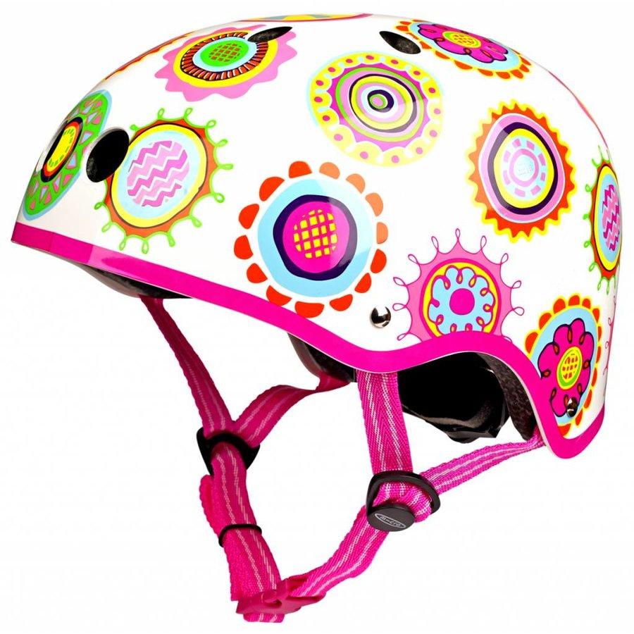 Micro helmet doodle dot