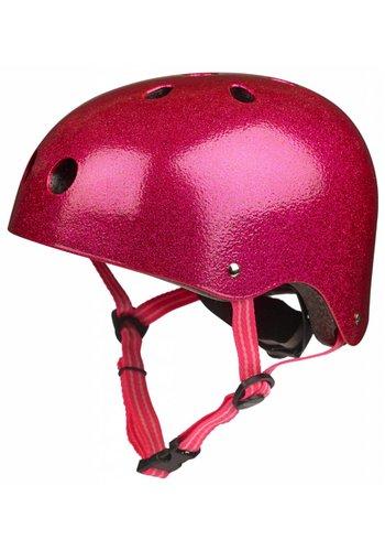 Micro helmet Pink glitter