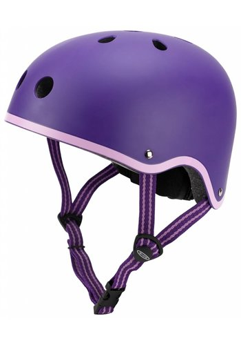 Micro helm mat paars