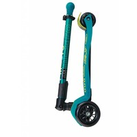 Maxi Micro scooter Deluxe Foldable Petrol Green