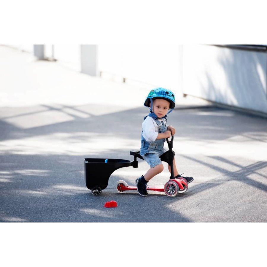 Aanhanger voor Mini 3in1 scooter, Mini2go step en G-bike loopfiets