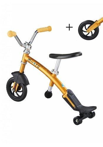 Micro G-bike Carver Deluxe geel