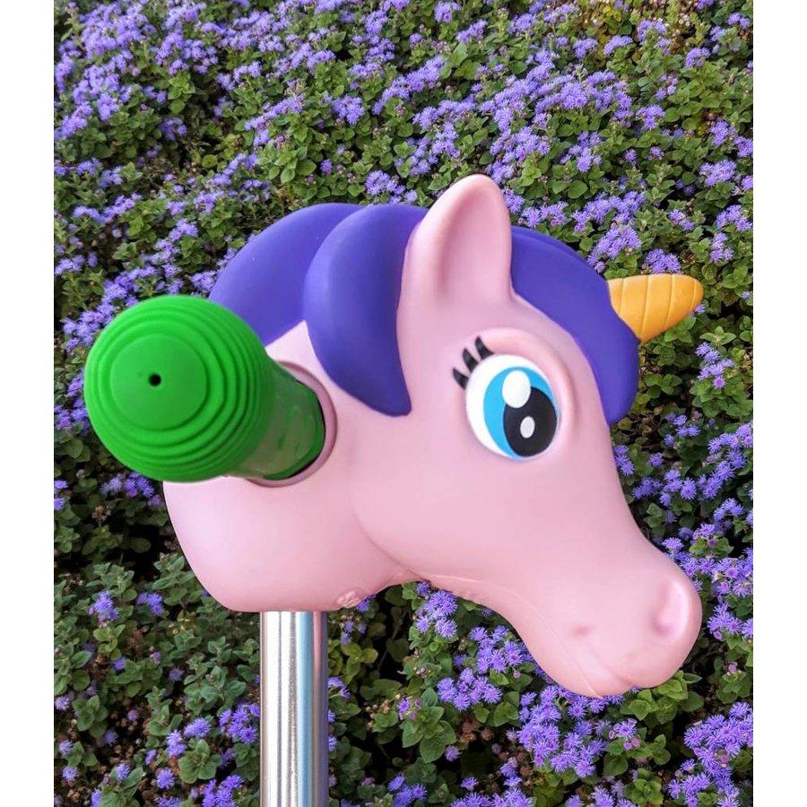 Scootaheadz unicorn Pink