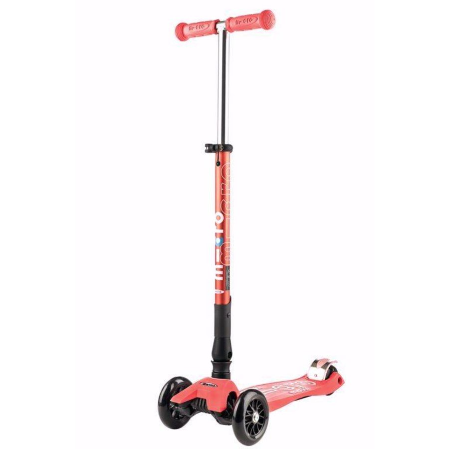 Maxi Micro scooter Deluxe Foldable Coral Pink