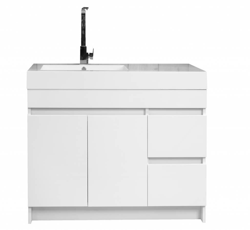 Badkamermeubel staand home design idee n en meubilair inspiraties - Integrale badkamer ...