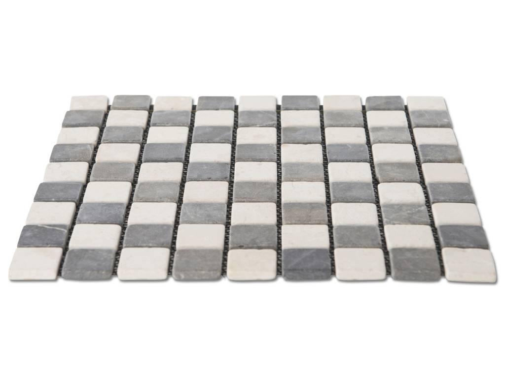 Vloertegels gamma woonkamer tegels schoonmaken beste inspiratie interieur design - Badkamer mozaiek grijs ...