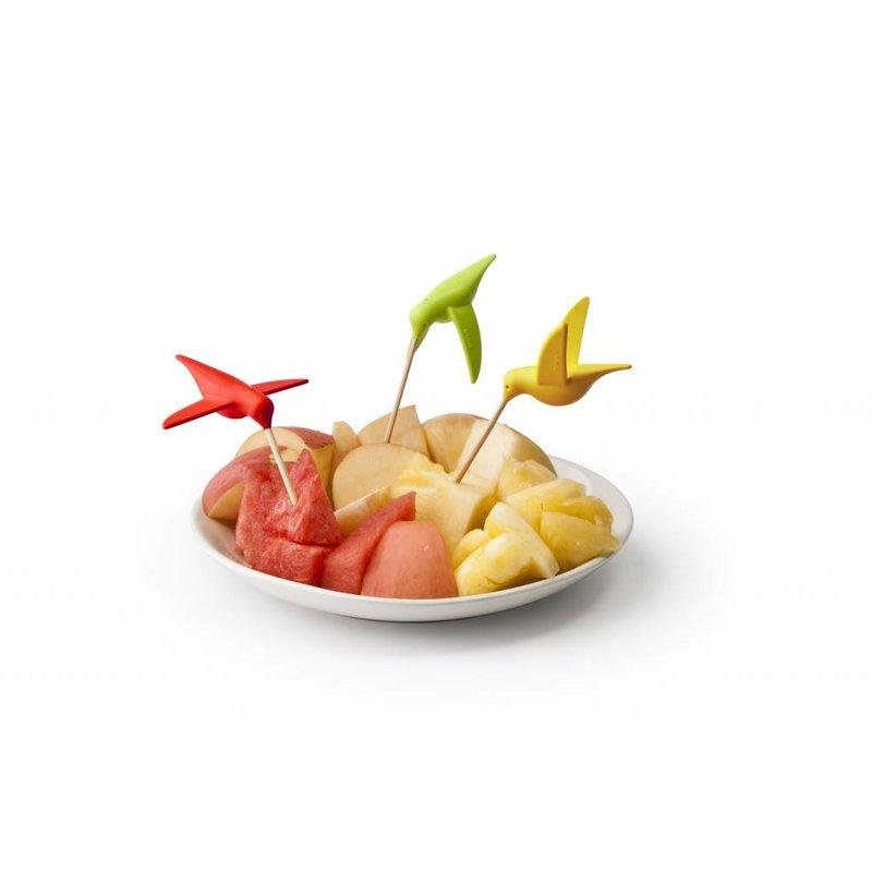 Kolibri Cocktailprikkerhouder 6 stuks