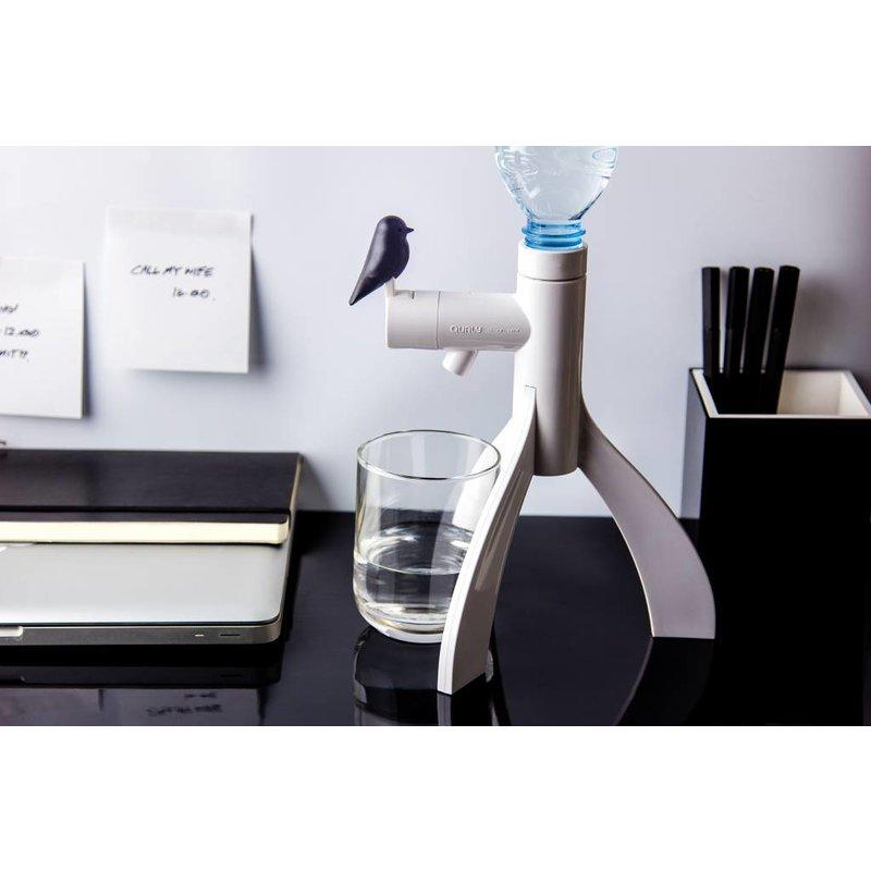Waterdispenser Thirsty Bird Zwart