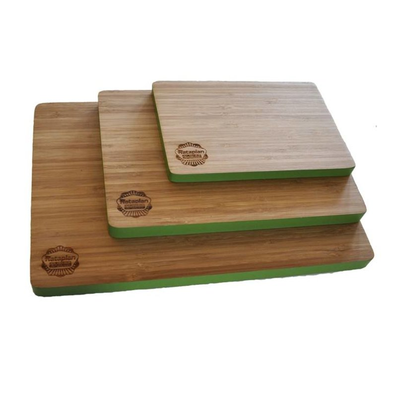 Bamboe Snijplank Groen Middel