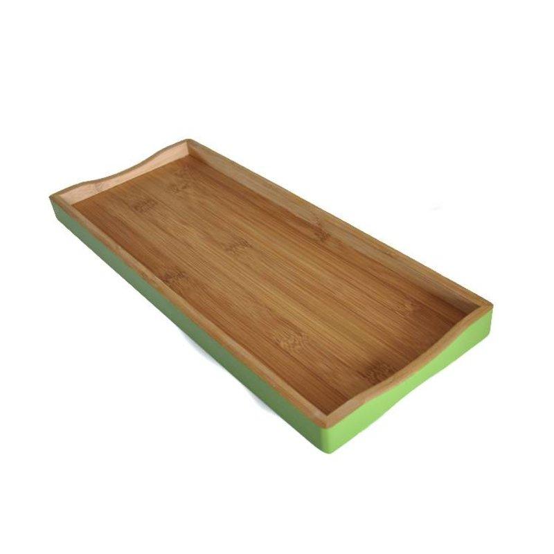 Bamboe Dienblad Groen