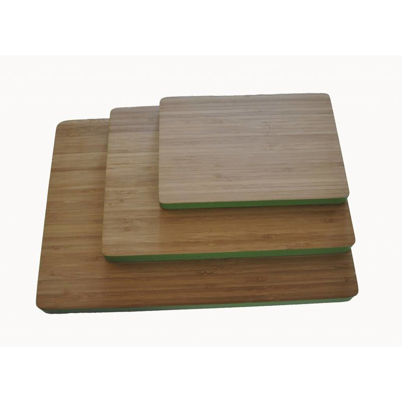 Bamboe Snijplank Groen Groot