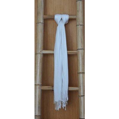 Bamboe Sjaal Ecru