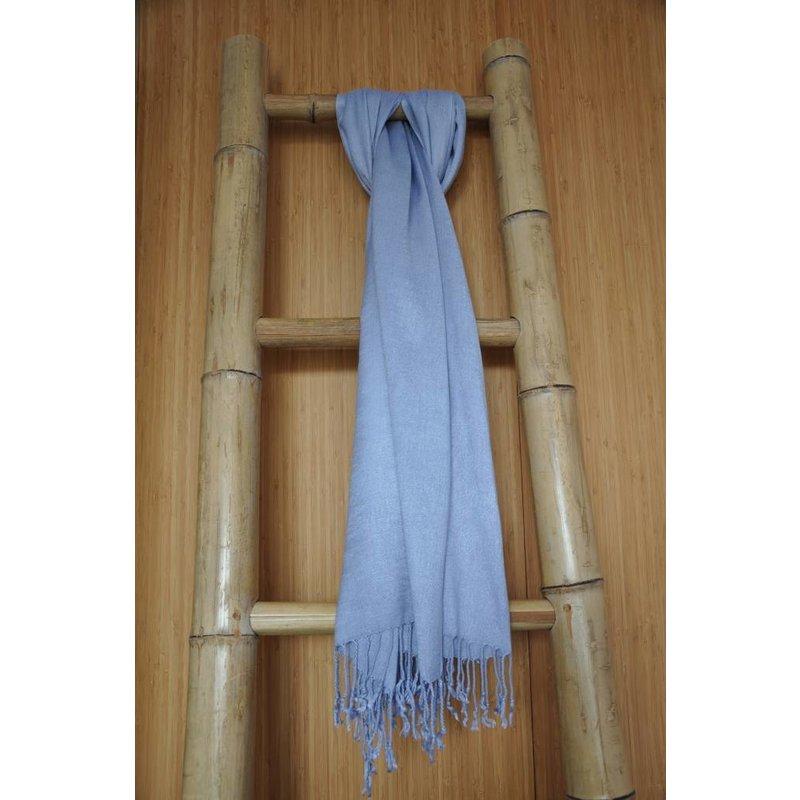 Bamboe Sjaal Lichtblauw