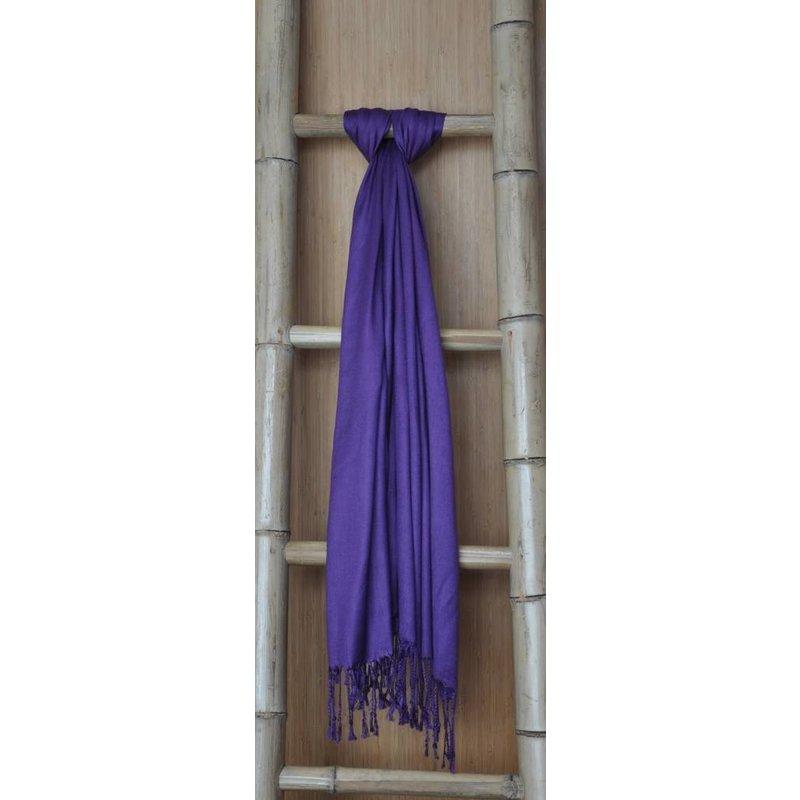 Bamboe Sjaal Paars