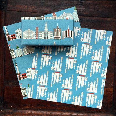 Papier Old Shanghai - New Shanghai