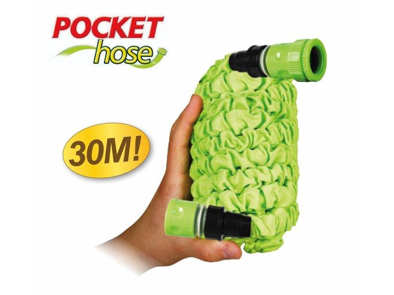 Bekend van TV Pocket Hose Flexibele Tuinslang 30m