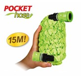 Bekend van TV Pocket Hose Flexibele Tuinslang 15m