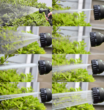 X-Hose Pro Nozzle - Multi-Functionele Sproeikop met 7 Sproeifuncties