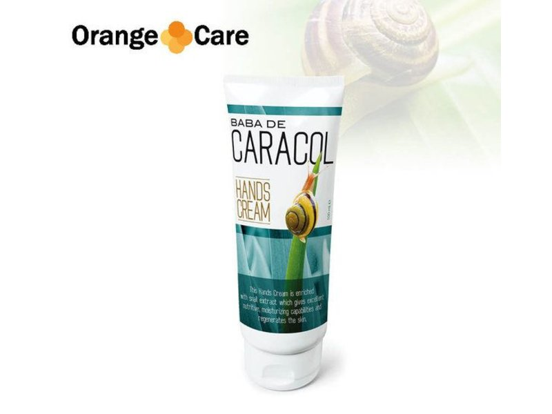 Orange Care Baba de caracol handcreme