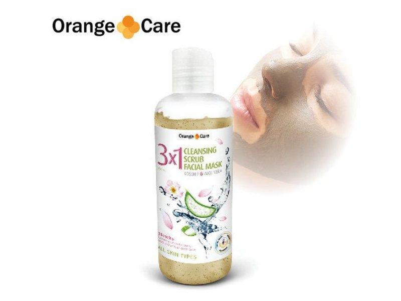Orange Care Gezichtsmasker