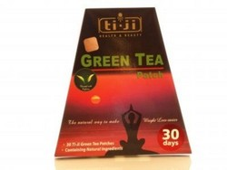 Ti-Ji Afslankpleisters Green Tea