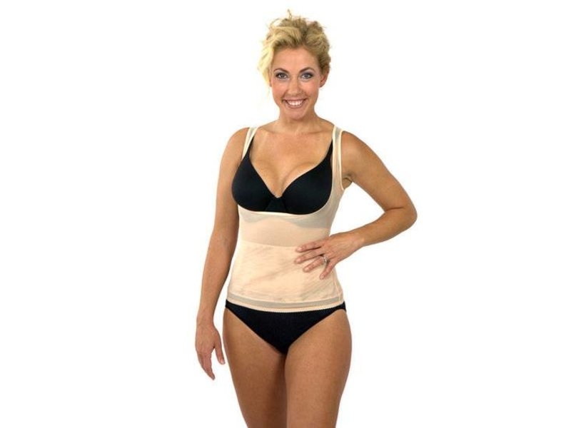 Shapewear New Body Shaper Corrigerende Top Beige XXXL